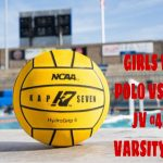 GIRLS WATER POLO 1/28