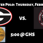 CIF Water Polo Thursday 2/7