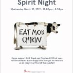 Chick-fil-A Spirit Night – Wednesday, March 13th