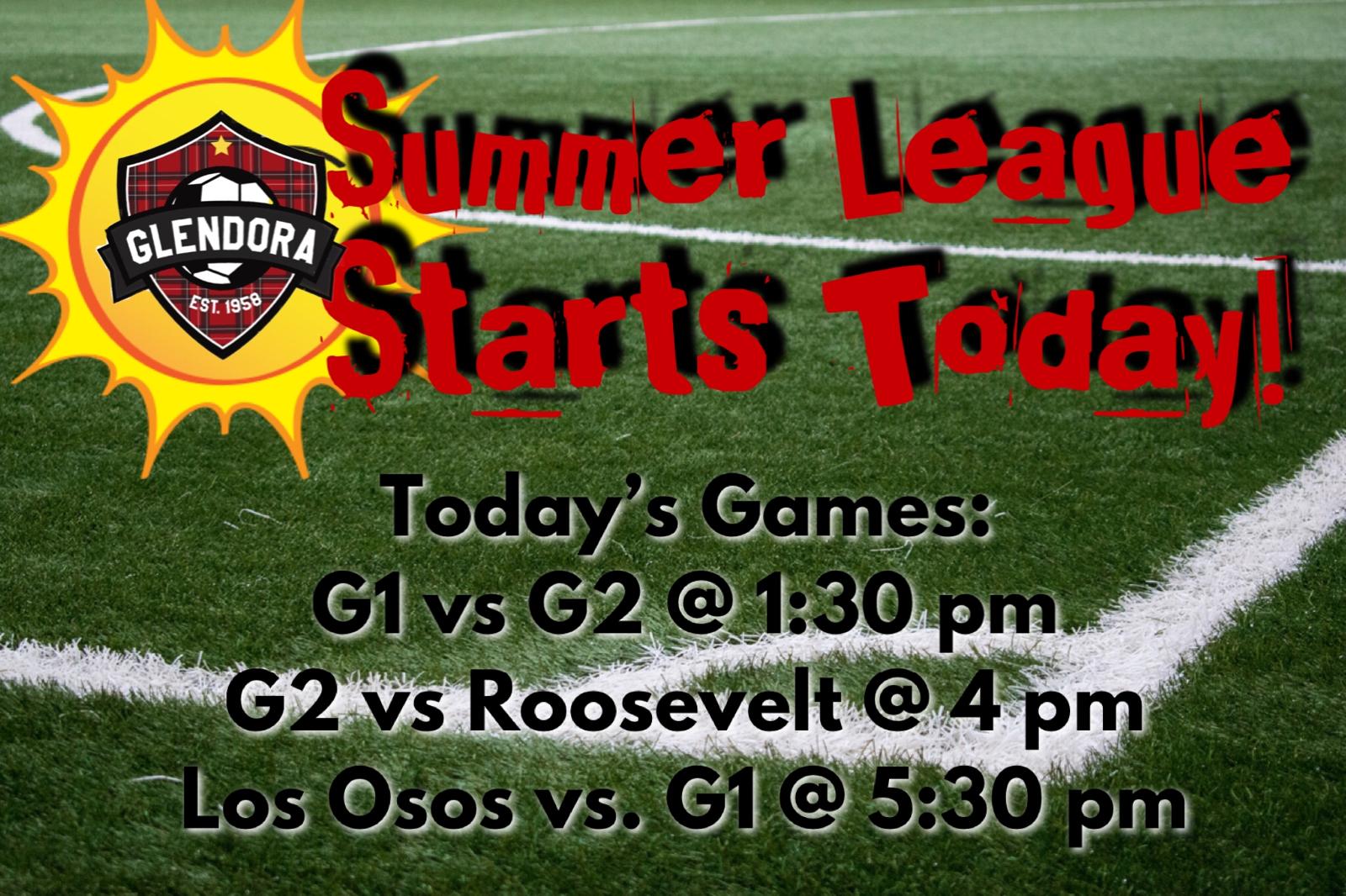 GHS Girls Soccer Summer League!