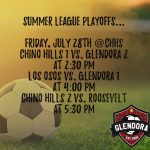 Girls Soccer Summer League Playoffs!