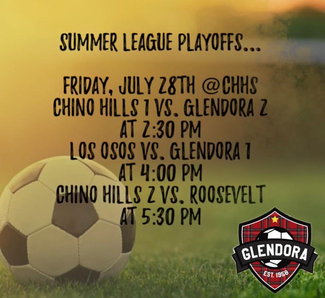 Girls Soccer Summer League Playoffs!