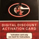 Football Digital Discount Card BLITZ NIGHT