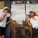 Glendora's Liz Oloteo and Kirsten Lindner finish as 1st Team All-Palomares League golfers.