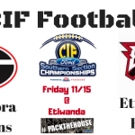 CIF Football Quarterfinals