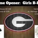 Girls Basketball:  Home Opener 12/2