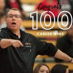 Coach Nunemaker Reaches 100 Wins