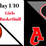 Girls Basketball Friday 1/10