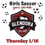 Girls Soccer 1/16
