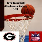 Boys Basketball 1/21