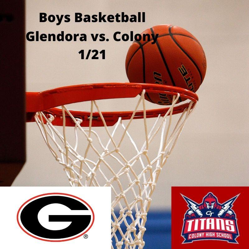 Boys Basketball 1/21