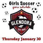 Girls Soccer 1/30