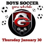 Boys Soccer 1/30