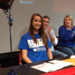 Lady Warrior signs with Tennessee State University