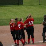 Wayne High School Softball Varsity beats Beavercreek High School 7-6