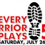 5K Run/Walk & Fun Run: Every Warrior Plays
