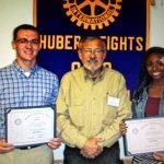 October Rotary Scholar Athletes: Bryce Haney & Akaila Howard