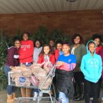 8th Girls Basketball: Gives Back to the Community