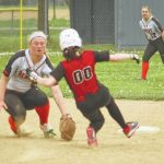 4/17/2017 Lady Warriors Varsity Softball Defeat Beavercreek 6-3 in GWOC conference game