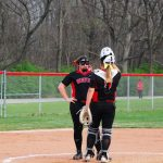 4/15/2017 Lady Warriors Varsity Softball beat Cincinnati Oak Hills 6-4