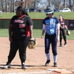 4/8/2017 Lady Warriors split DH with Fairborn