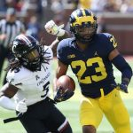 Alumni: DDN article: Wayne Alumnus Tyree Kinnel picks up BIG TEN HONOR for Michigan