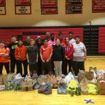 Wrestling: Jr High Team Gives Back!