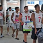 Varsity Fball: Camp Children's Hospital 7/30/18