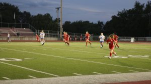 9/12/18 Girls Soccer vs Springboro, By Student-Photographer Brooklyn Buckles