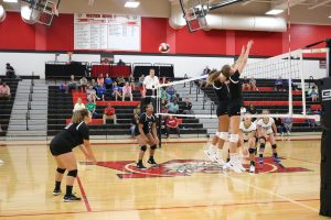 9/13/18 Volleyball vs Chaminade Julienne, By Student-Photographer Allyson Hook