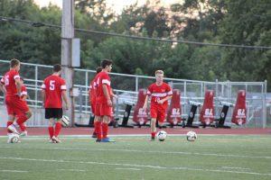 9/18/18 Boys Soccer vs Miamisburg, By Student-Photographer Parker Belcher