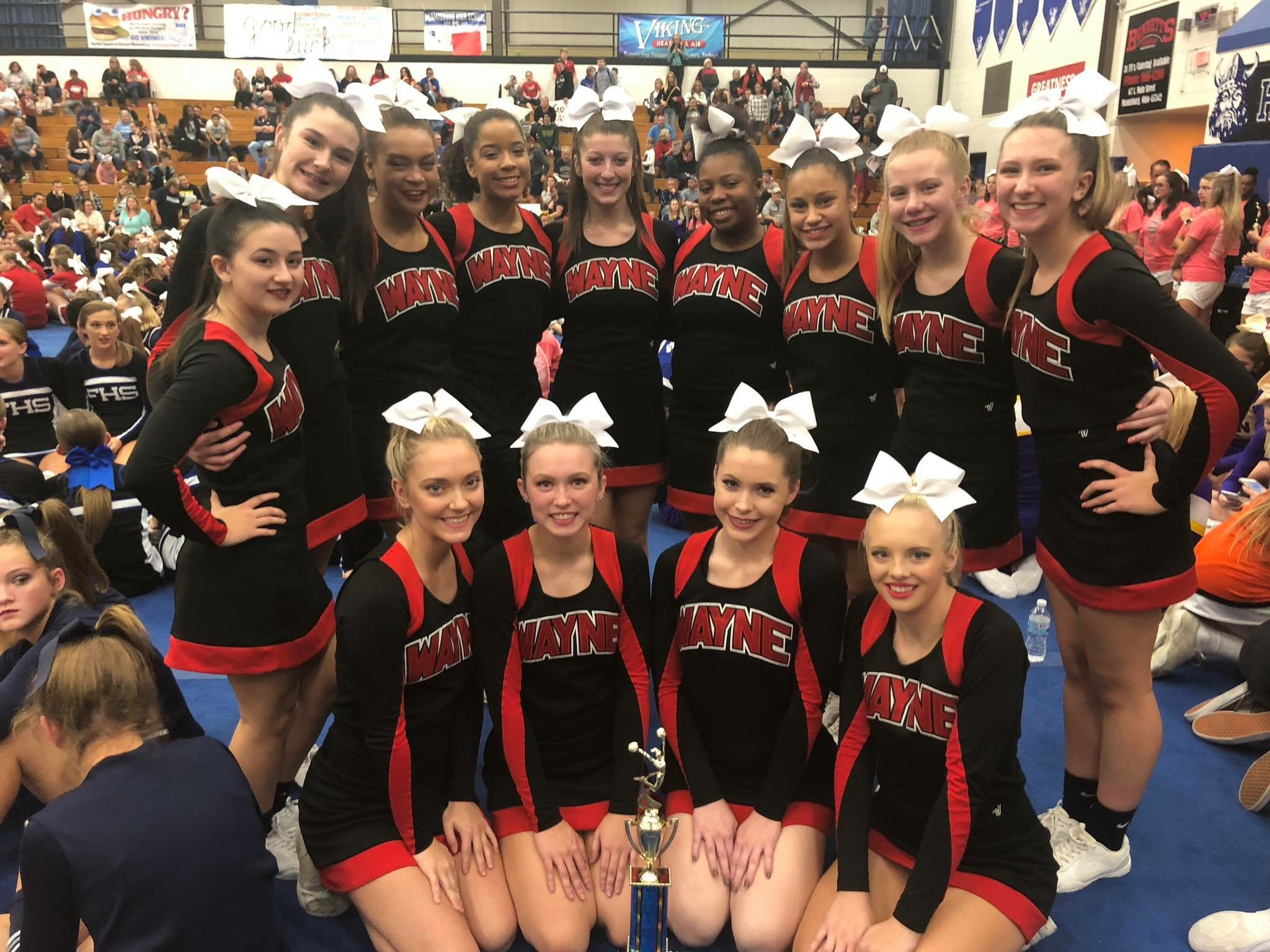 Cheerleading: Varisty Comp takes 3rd Place!