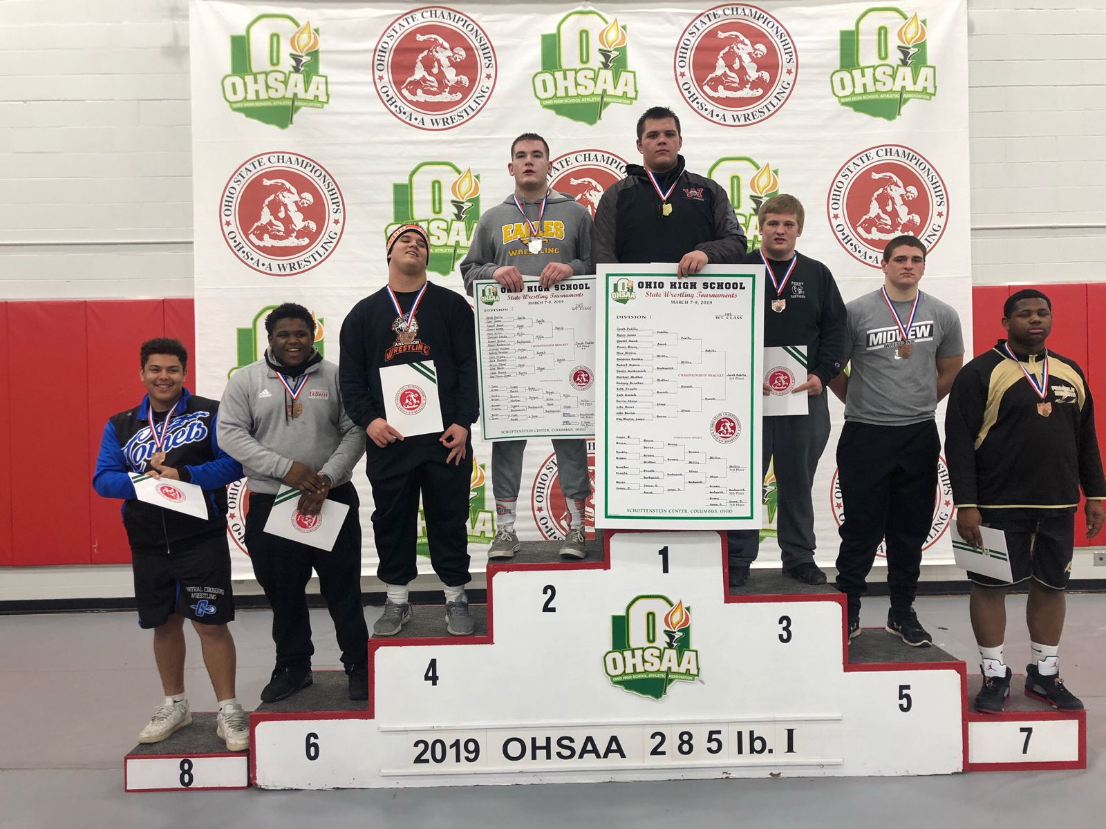 Wrestling: JACOB PADILLA IS A STATE CHAMPION