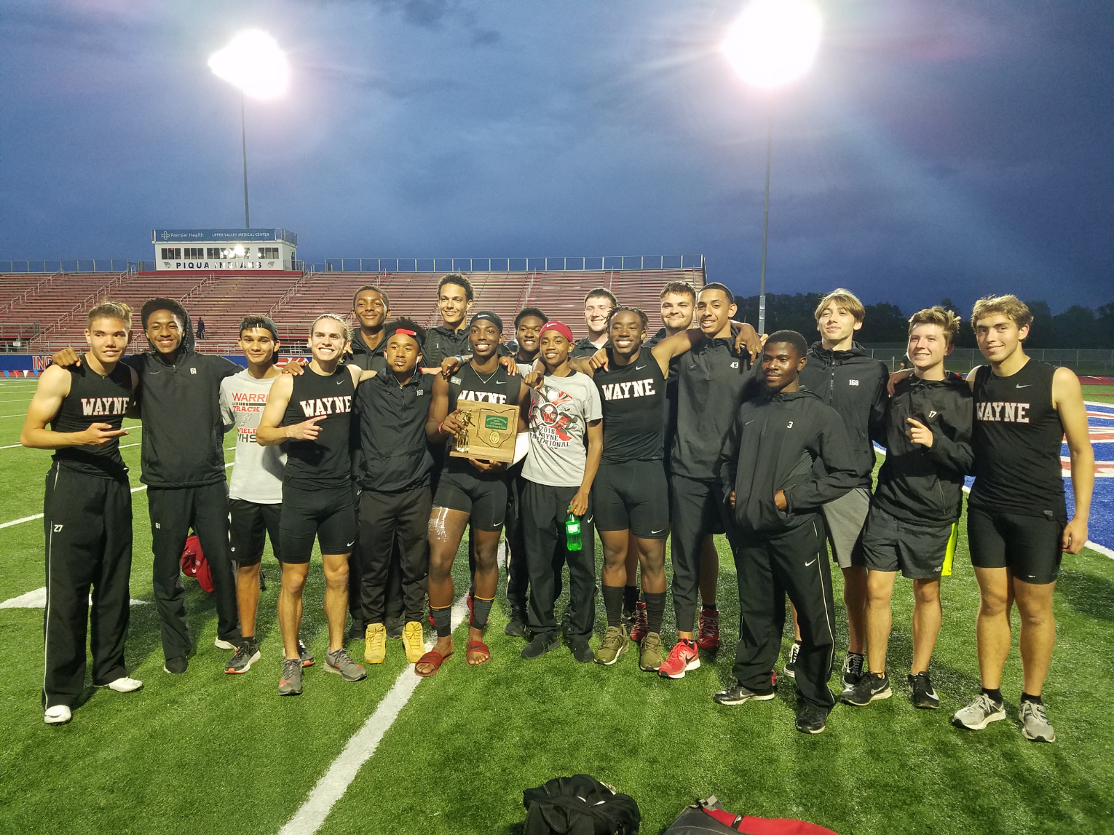 Boys Track – District Champs!