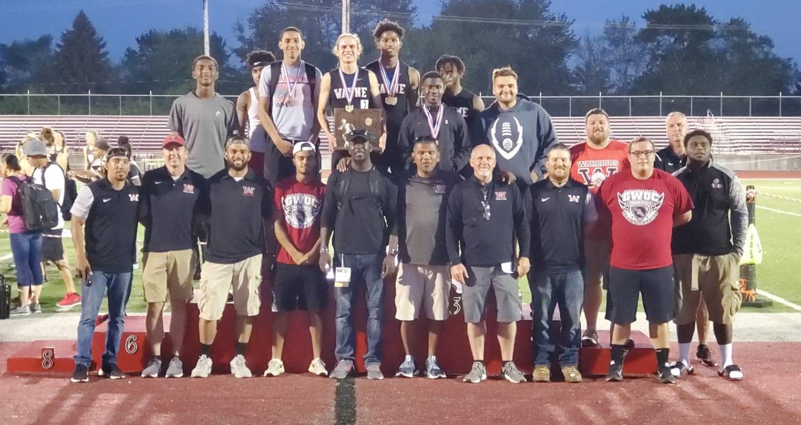 Boys Track – Regional co-Champs!