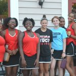 Lady Warriors Fall to Lady Elks on the tennis court