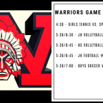 Warriors Game Day – Sep. 12