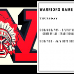 Warriors Game Day – Oct. 3