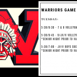 Warriors Game Day – Oct. 8