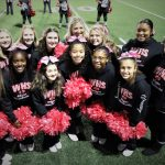 Varsity Cheer Supporting Breast Cancer Awarness!