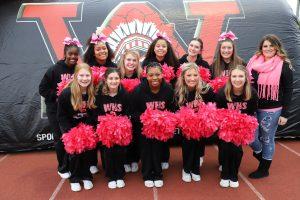 Varsity Football Cheer Supporting Breast Cancer Awareness (10/25/19)