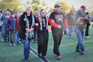 Senior Night: Band & Warriorettes (Part 2)