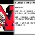 Warriors Game Day – Dec. 17