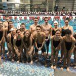 Wayne Swim Team Swims at Miami University