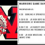 Warriors Game Day – Dec. 18