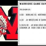 Warriors Game Day – Jan. 7
