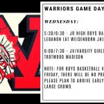 Warriors Game Day – Jan. 8
