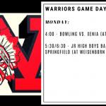 Warriors Game Day – Jan. 13