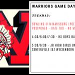 Warriors Game Day – Jan. 14