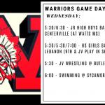 Warriors Game Day – Jan. 15